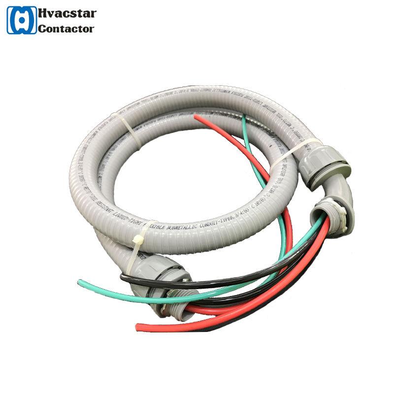 """をul condiut ac鞭4ftの3/4 """"pvc電線管配線電気銅液体-タイト鞭電気アクセサリー"""