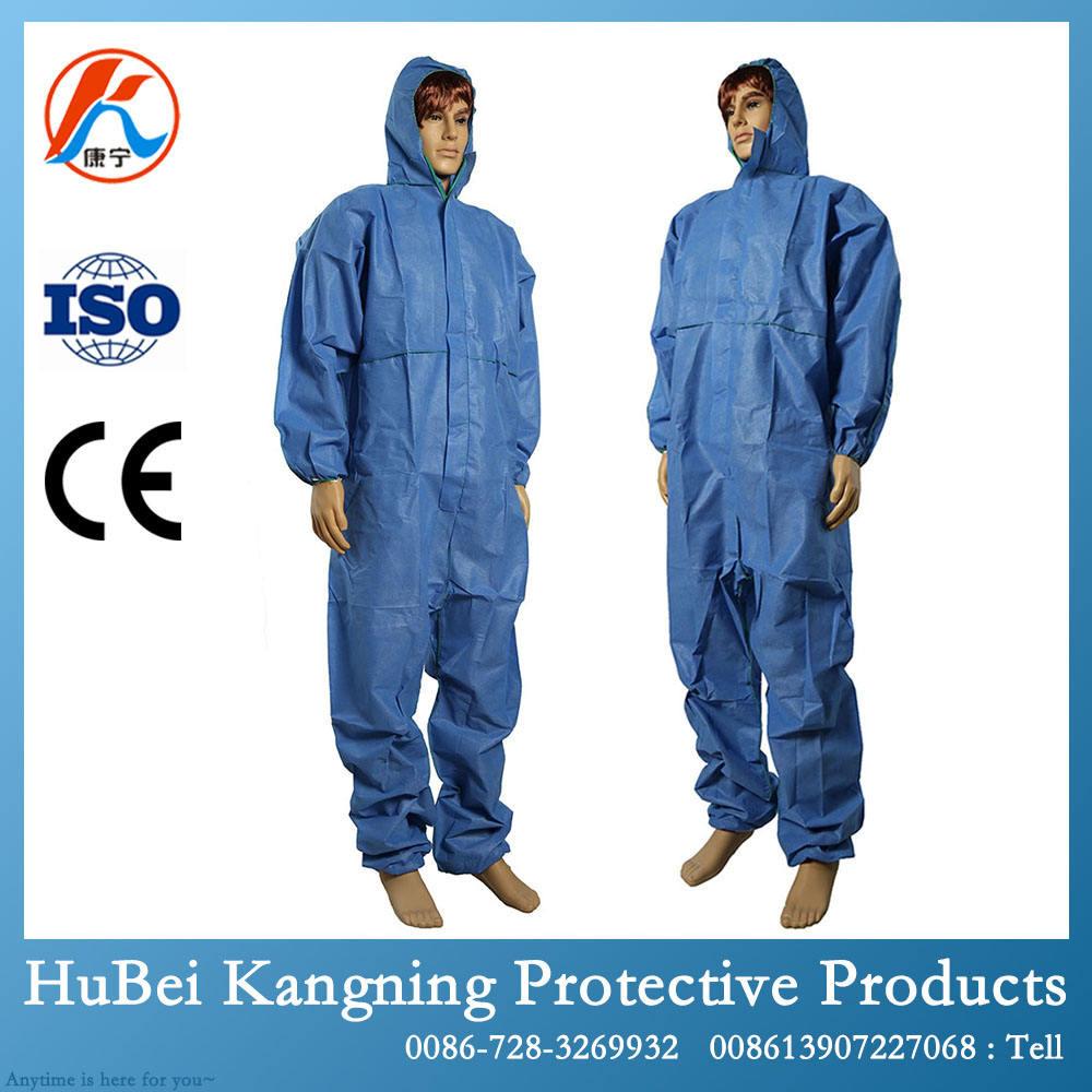 Одежда безопасности комбинезон одноразовые водонепроницаемый комбинезон