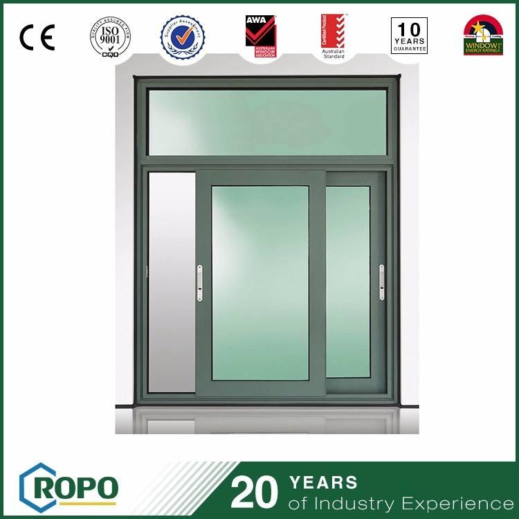 Diseño de la venta la capa del polvo de aluminio costo como una cocina <span class=keywords><strong>ventana</strong></span> deslizante