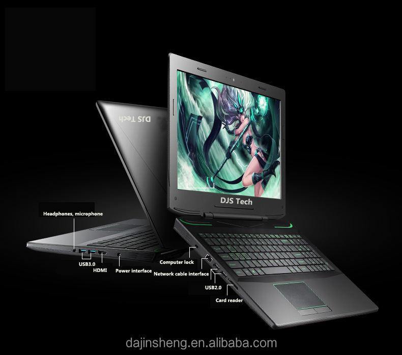 EDP haute résolution écran 15.6 pouce <span class=keywords><strong>Intel</strong></span> i5 jusqu'à i7 DDR4 4G jusqu'à 8G ordinateur portable