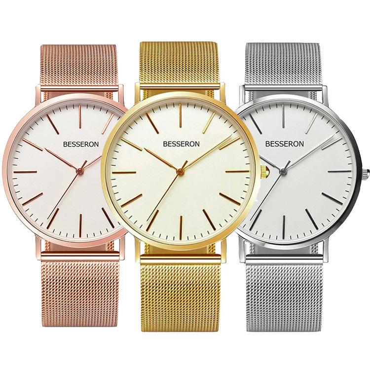 OEM ODM marque Privée montres hommes femmes montres à quartz lunette 316 Lstainless acier quartz hommes montre