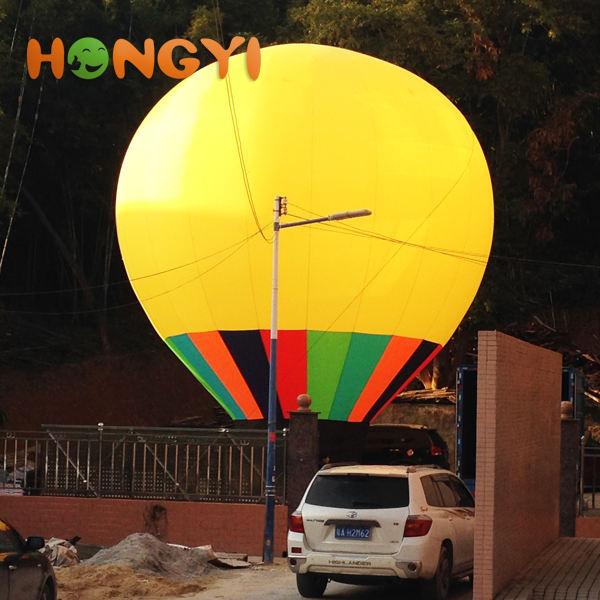 Fuente del fabricante grande inflable PVC publicidad globo de aire caliente varios color y tamaño para elegir