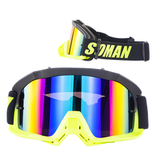 Motocross goggle glasses racing MX&BMX&Downhill Sport Goggles with removable Nose protector SM16