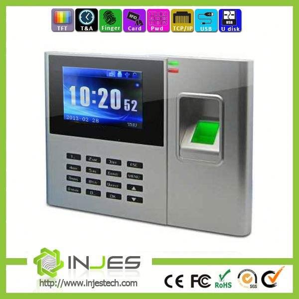 China Top Ten de producto Tcp Ip Rfid tarjeta de tiempo y asistencia dispositivo