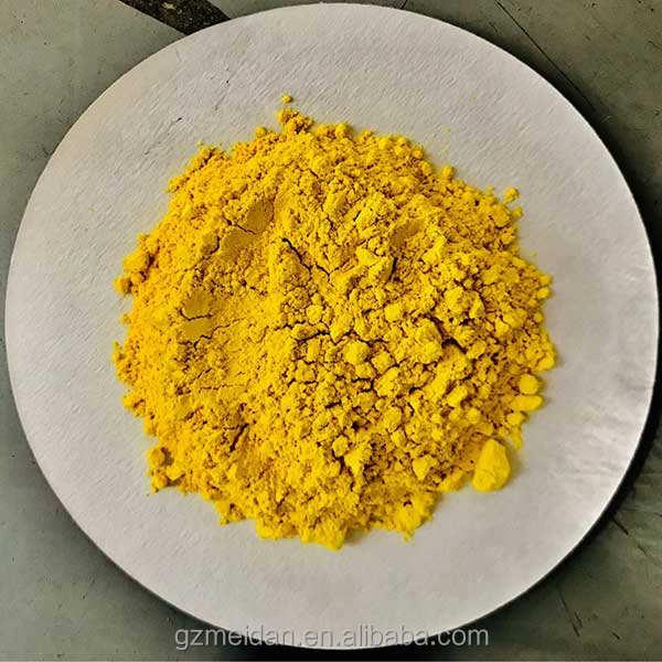 Guangzhou pigments inorganiques chimie chrome jaune moyen 103 W pigment jaune 34 pour revêtement/en plastique