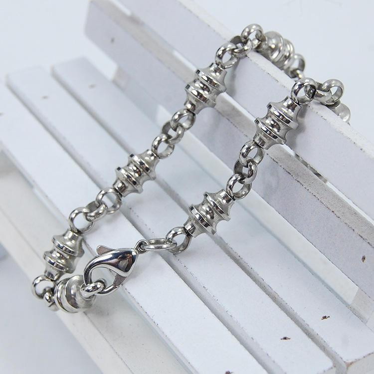 Commercio all'ingrosso caldo argento placcato platino placcato braccialetto di preghiera cristiana