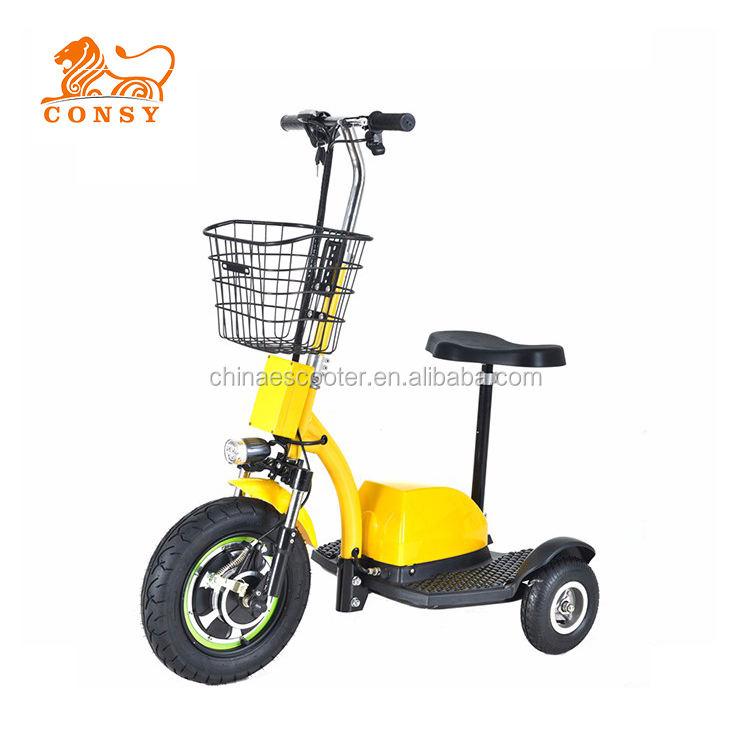 """ES04A 500 Wát 48 V <span class=keywords><strong>20AH</strong></span> CE 16 """"ba bánh xe zappy electric scooter"""