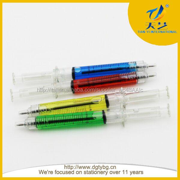 dell'ago siringa penna a sfera sharpe canna iniezione plastica per 0,5 mm