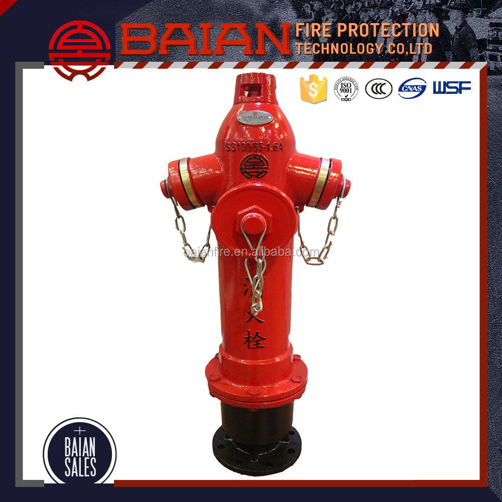 SS100/65 чугуна портативный пожарный гидрант с низкой ценой