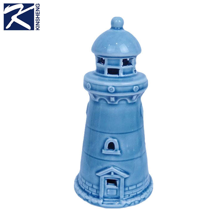 Декоративная керамика маяк сувенир с солнечного света
