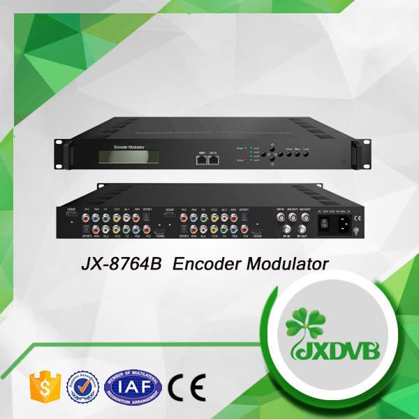 OEM Приемлемо, кабельным телевидением, цифровой 2 Канала isdb-t encoder модулятор