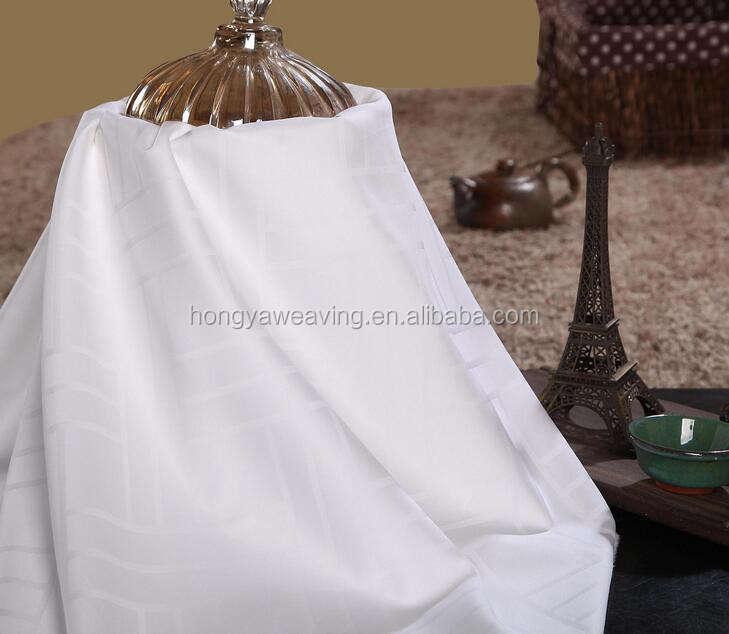 Zi ling de luxo jacquard de algodão tecido da cama para hotel e casa usados