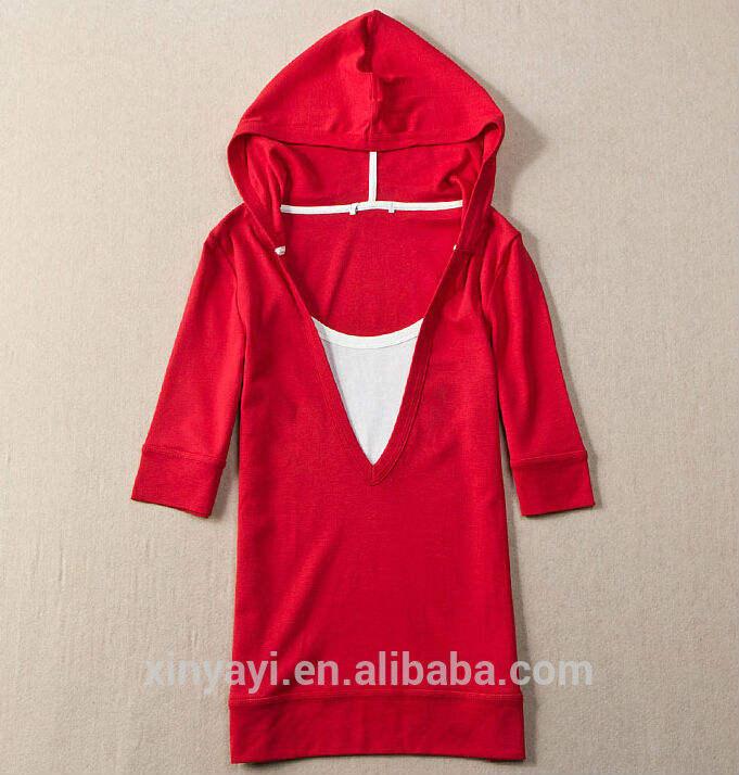 мода женщин пуловер кофты с капюшоном/модели свитера для дам/одеёды покупателя в европе