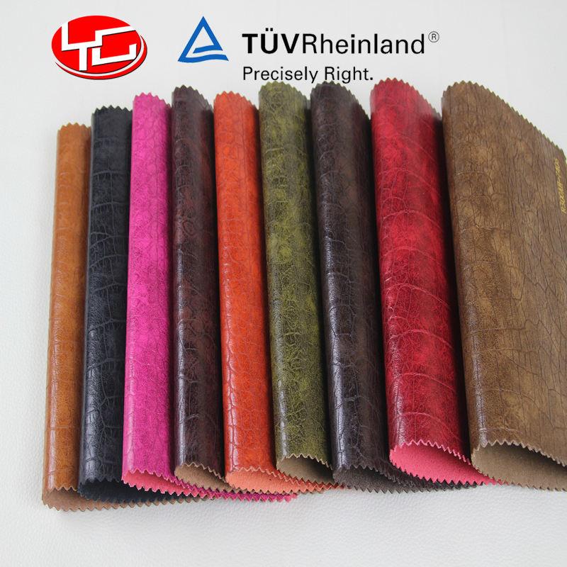 模造ワニ人工皮革用男性バッグ靴ベルト女性のハンドバッグ財布