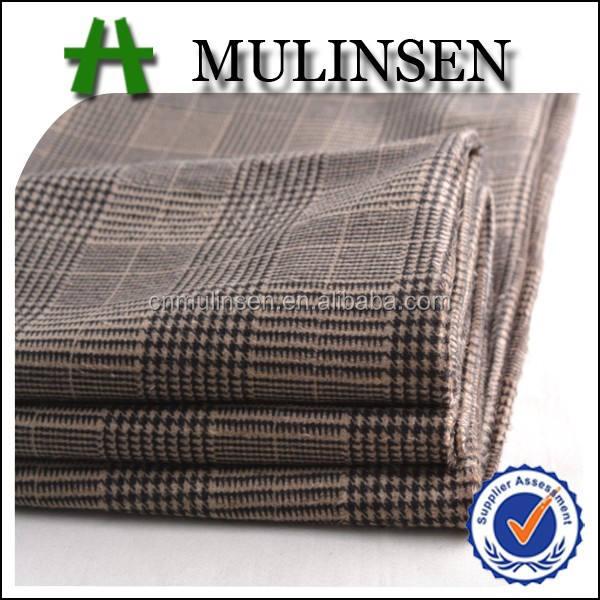 Mulinsen Tekstil Baskılı Kesme Örgü Kumaş <span class=keywords><strong>100</strong></span> <span class=keywords><strong>Polyester</strong></span> <span class=keywords><strong>Triko</strong></span> Fırçalanmış Kumaş