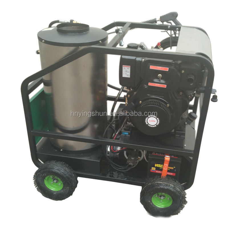CE on promotion mobile diesel 50 bar steam car cleaner, vapor can you steam clean a car