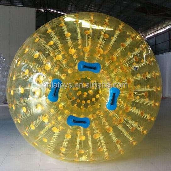 Hola cor amarela bola zorb/zorb preços/bolas zorb baratos