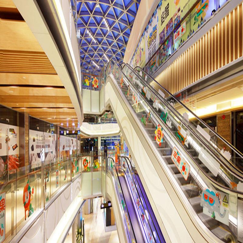 Funzione impermeabile Soffitto del PVC Popolare Supermercato Soffitto In Legno Composito