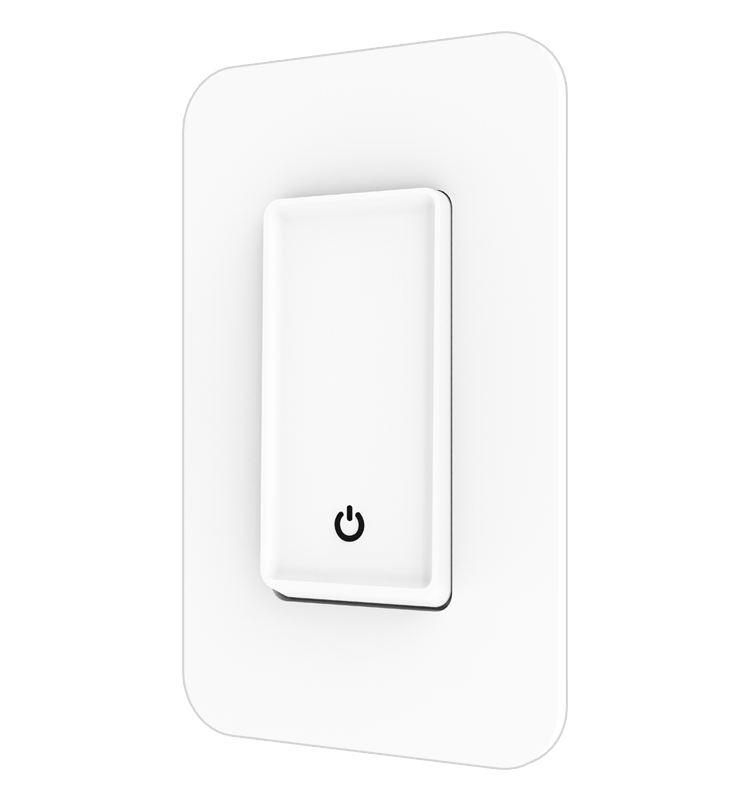 Hogar Inteligente interruptor de Control remoto Wifi interruptor de la luz <span class=keywords><strong>funciona</strong></span> con <span class=keywords><strong>asistente</strong></span> de Google y Amazon Alexa