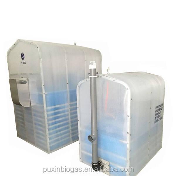 Uso doméstico Membrana Mini Digestor <span class=keywords><strong>De</strong></span> <span class=keywords><strong>Biogás</strong></span> para Tratar Os Resíduos Orgânicos