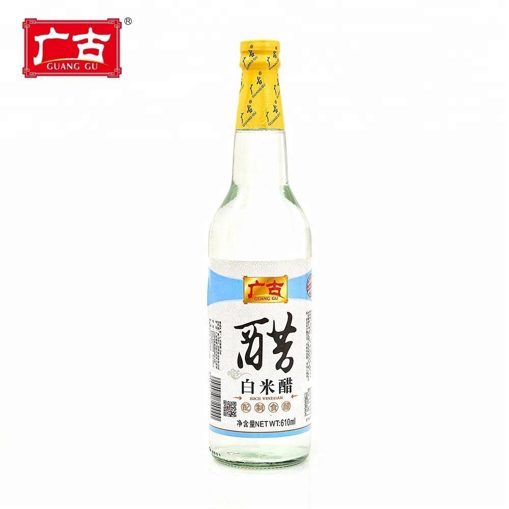 Vinagre puro fabricado tradicional chinês superior do vinagre branco maioria de volume da classe