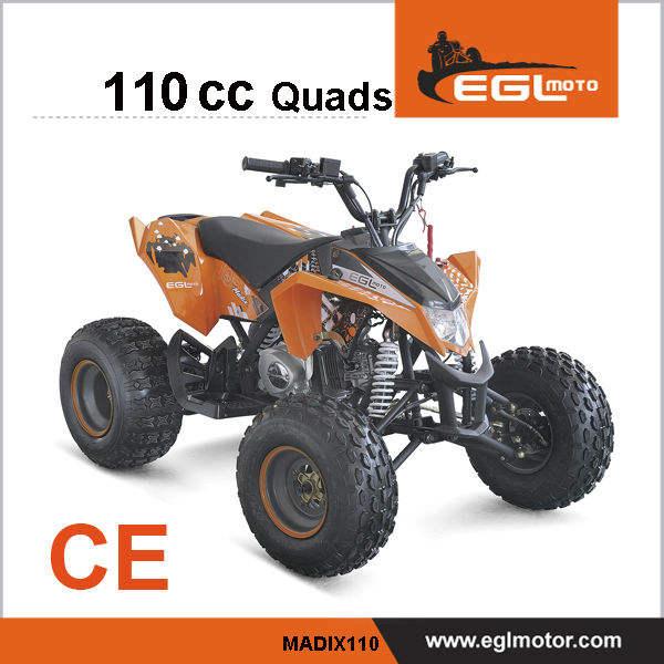 CE ATV Racing 110cc motor con marcha atrás