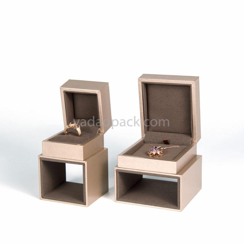Customed di plastica grandi lotti gioielli scatola di imballaggio per gioielli exhibition banco espositore