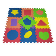 China wholesale non toxic 200PPM 12in x 12in 10pcs/set baby puzzle eva foam play game mat