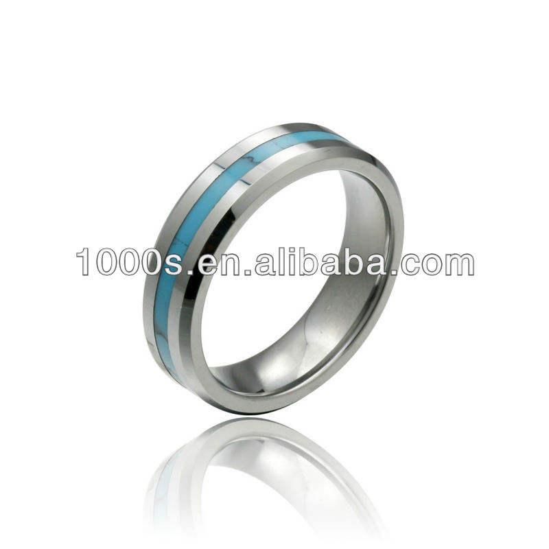 2017 Новый стиль Красочные Вольфрама Палец кольцо Ювелирных Изделий