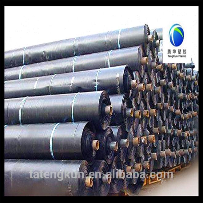 Geomembranas tipo y Material HDPE camarones y peces de estanque liner liner y fish farm liner