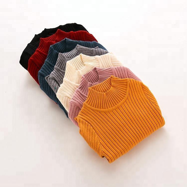 Childrenware пуловер пользовательские вязать свитер