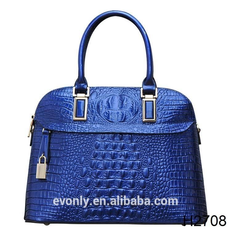 h2708 оптовая моды ёенская красочные крокодиловой кожи сумки высокое качество красная сумка крокодила бренда