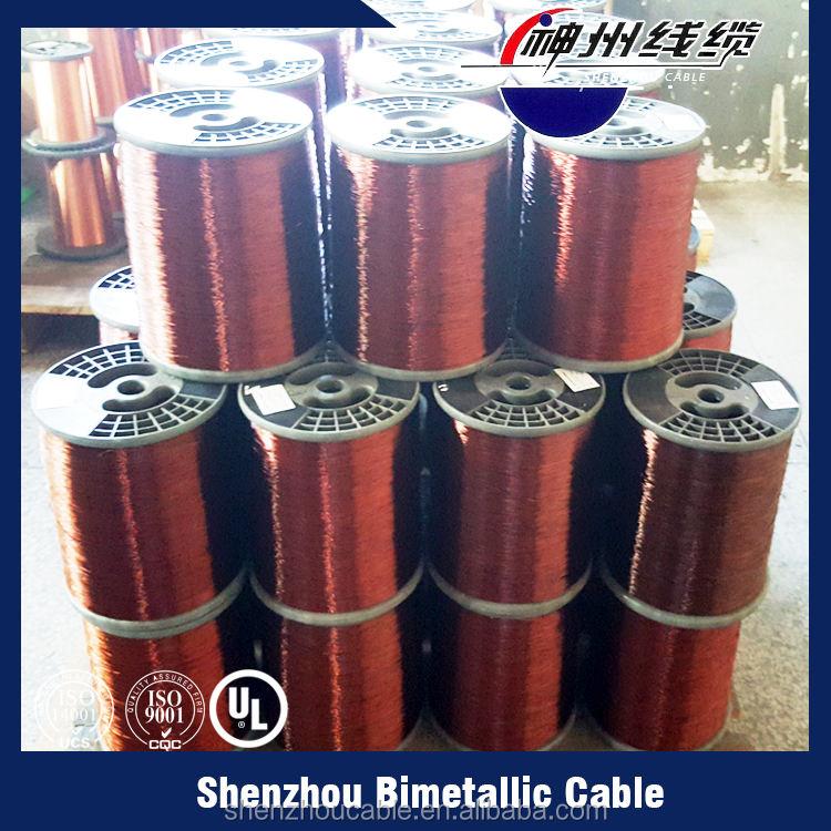 Mejores ventas polysterimide cobre esmaltado alambre de aluminio revestido