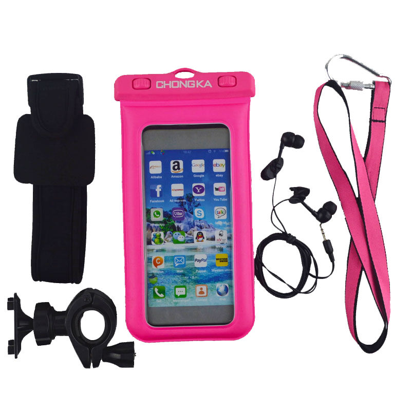 Горячие новые продукты водонепроницаемый сотовый телефон чехол с плавающей