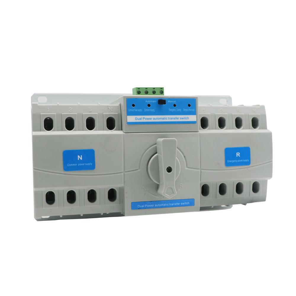 63A Classe CB ATS L'intelligence Double Commutateur de Transfert De puissance pour Générateur Automatique