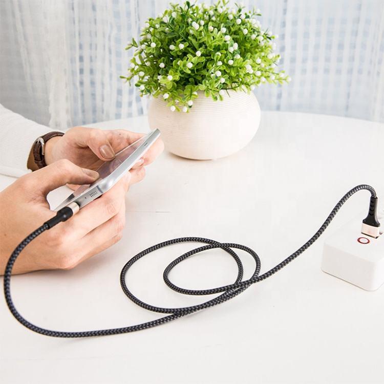 Durable de alta calidad 2.5a de carga rápida del teléfono celular cargador Cable para iphone x