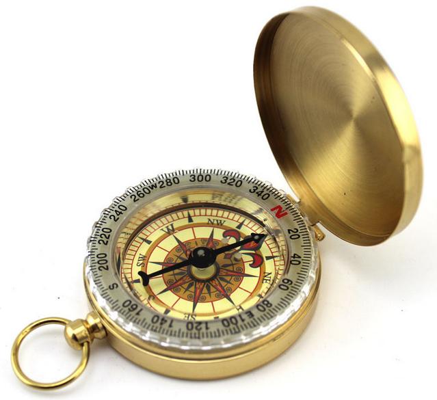 Кемпинг выживания компасы классический мини карманные часы Стиль Портативный водонепроницаемый, световой компасы <span class=keywords><strong>для</strong></span> активного
