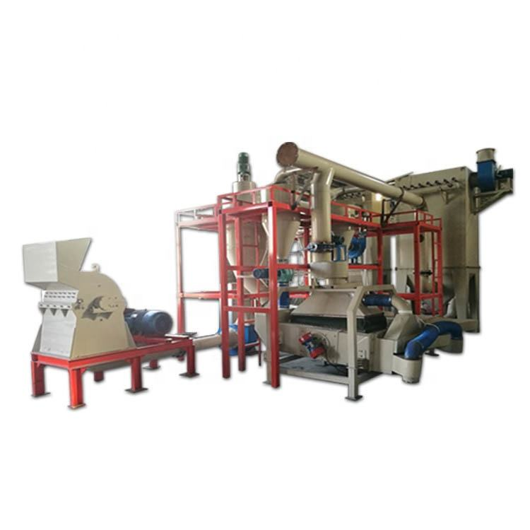 Automobile Plastic Aluminum Shell Lithium Battery Recycling Machine