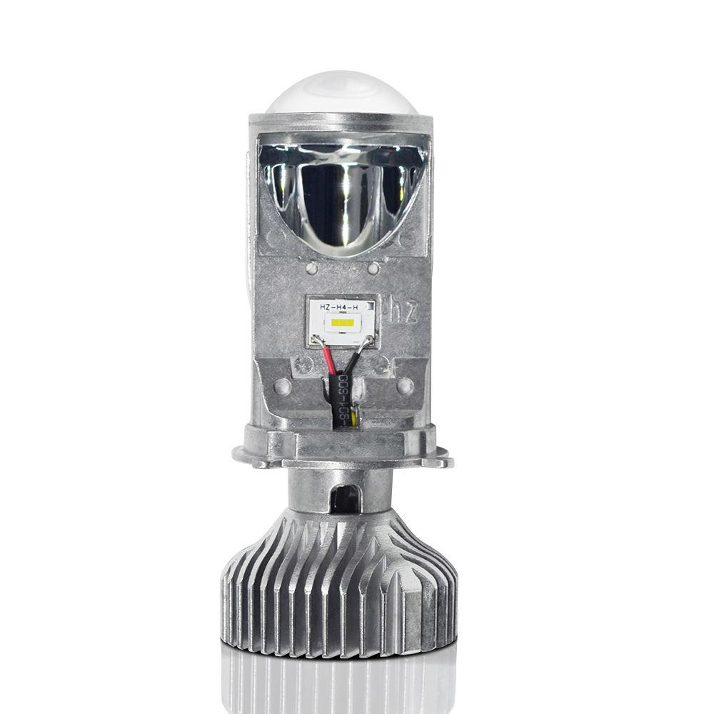 Y6S H4 LEVOU Farol Lente Do Projetor Mini Lâmpada LED para carro claro padrão de feixe 12 V/24 V 6000K