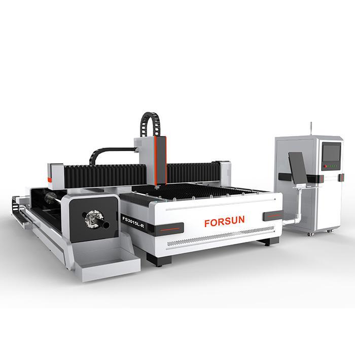 Forsun 30W 50W 섬유 레이저 절단 0.5mm 실버 레이저 조각 기계