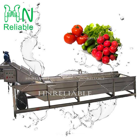 New generation fruit and vegetable processing line / fruit vegetable washing and cutting machine from reliable manufacturer