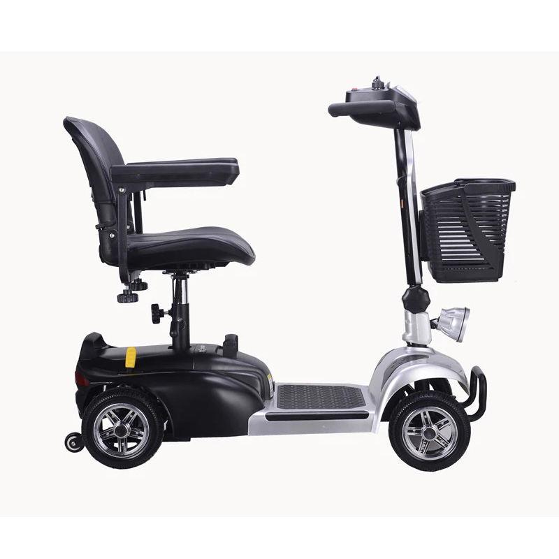 12Ah * 2 20Ah 250 ワット折りたたみモビリティスクーター 4 輪電動米国市場