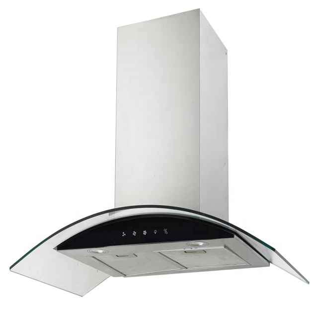 900mm length T-shape kitchen chimney hood/Stainless Steel Wall Mounted Range Hood YF-37