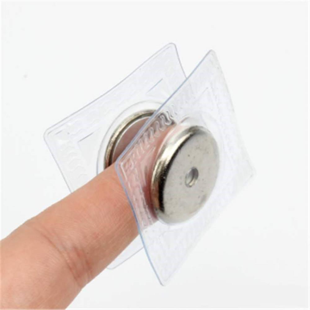 Personnalisé graver logo en métal bouton-pression dissimulés 18mm <span class=keywords><strong>PVC</strong></span> bouton magnétique pour sac utilisation de pièces