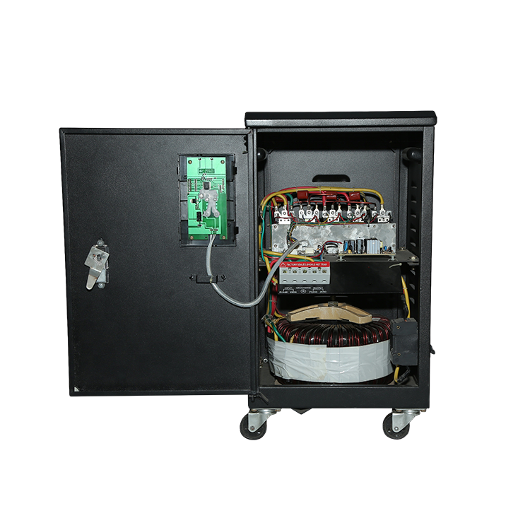 Full automatic static voltage regulator for whole house