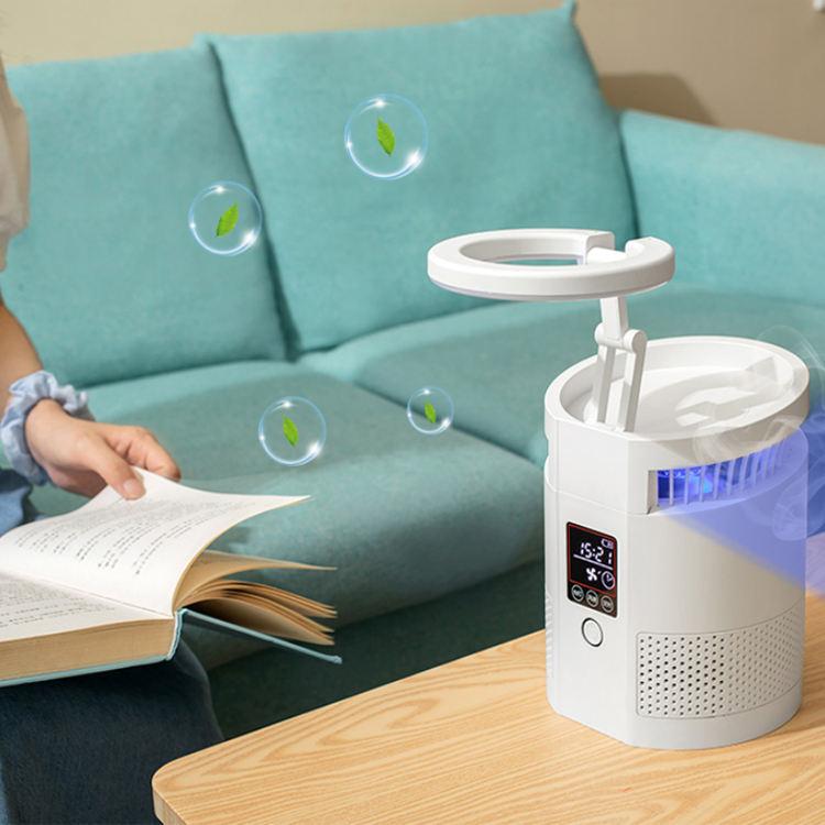 2020 휴대용 테이블 살균 ionizer <span class=keywords><strong>오존</strong></span> 미니 공기 청정기 hepa 필터 홈 작은 air_purifier 어린이