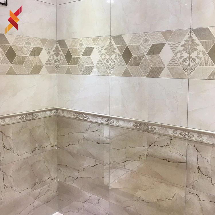 30x60モダンなシャワーバスルームセラミック装飾インテリア床と壁タイル