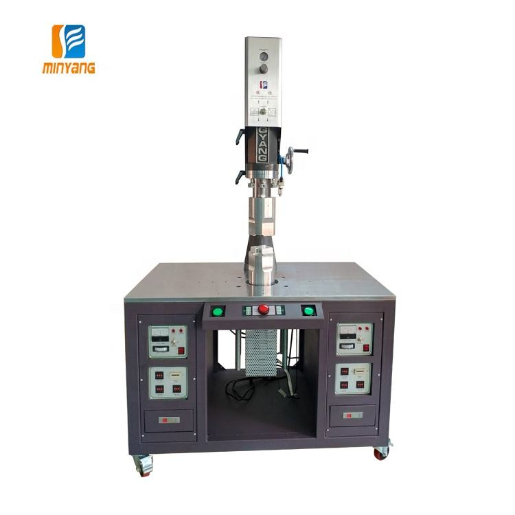 20khz 2000W Ultrasonic plastic welding machine with double head vibration friction welding 2-heads