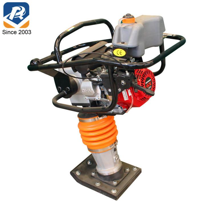GX160 البنزين قوي التأثير على قوة مصنع تدك Rammer