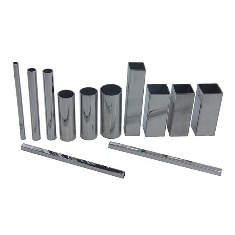 ASTM A554 Grado 201202304 316l 430 <span class=keywords><strong>SSS</strong></span> PSS PVD Precios de tubos de acero inoxidable soldados con acabado